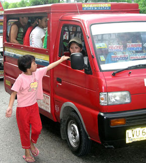 Davao kids asking for Christmas presents