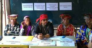 Davao del Norte Lumads cancel  plan to return home as paramilitary attacks renew