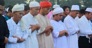 Muslims mark end of Ramadan fasting in Davao City