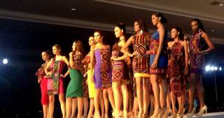 Miss U in Davao: Mindanao-weaved fabrics take center stage