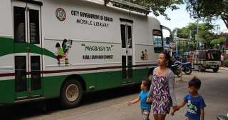 Mobile libraries for Davao's far-flung villages mulled