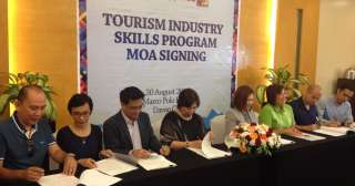 Skills dev't to sustain PH tourism boom