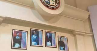 4 PH national heroes replace Duterte family photos inside Davao City Council