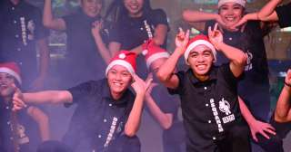 Kids carnival, candyland-themed city hall delight families in Davao City's Pasko Fiesta