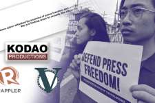 STANDPOINT | Kodao, Rappler, Vera Files and the ongoing assault on the media