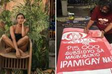 Of women painting poverty and struggles