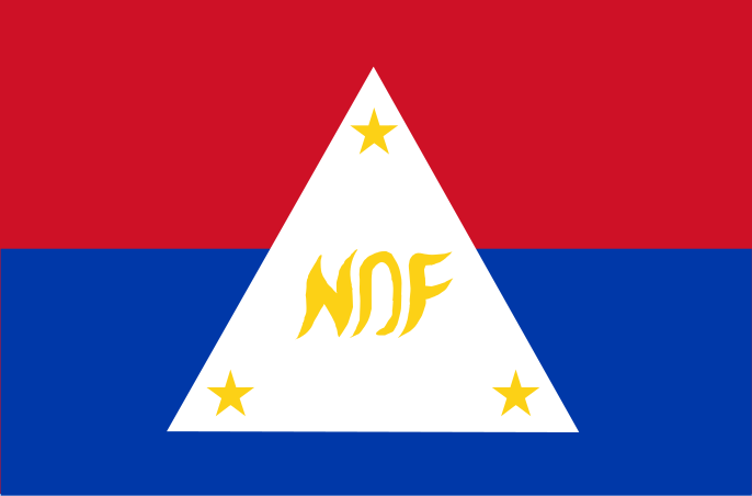 NDF flag. (Image from http://commons.wikimedia.org)