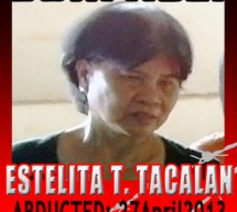 60-year old organizer abducted Palparan-style, still missing