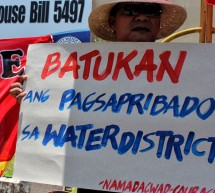 Private corporation wants to buy Davao's water district, says former BoD