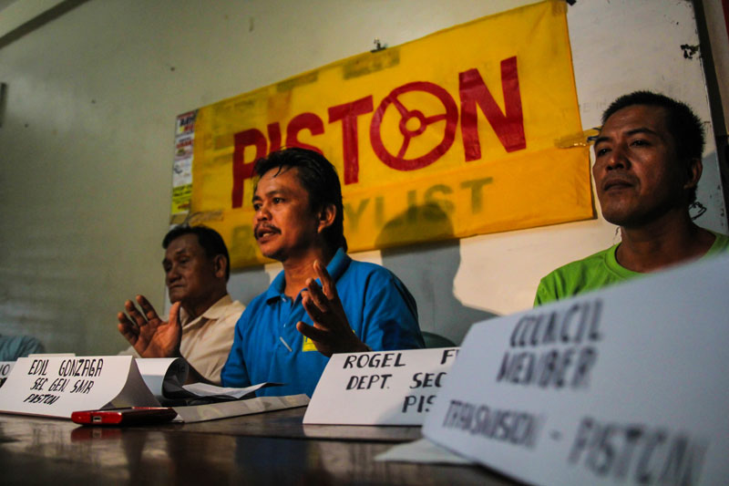 group Transmision-Piston in Southern Mindanao, led by its secretary