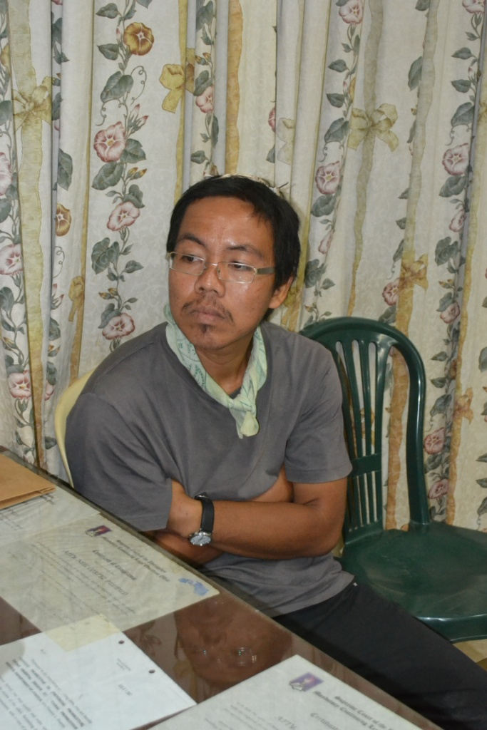 Photo of Kim Gargar released by AFP's Eastern Mindanao Command Thursday.
