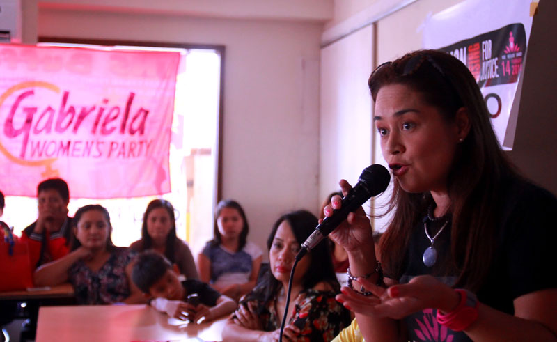 Monique Wilson supports Kidapawan vendors