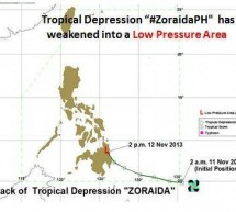 Zoraida now an LPA but leaves behind Comval, DavNor flooding