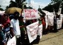 Pantukan small-scale miners protest US-owned mining anew