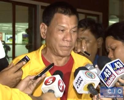 Duterte: I will rebel vs my own gov't