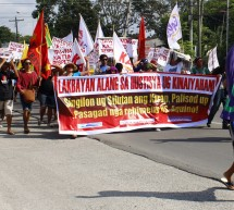 'LAKBAYAN' FOR ENVIRONMENT JUSTICE