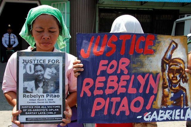 STILL NO JUSTICE FOR REBELYN