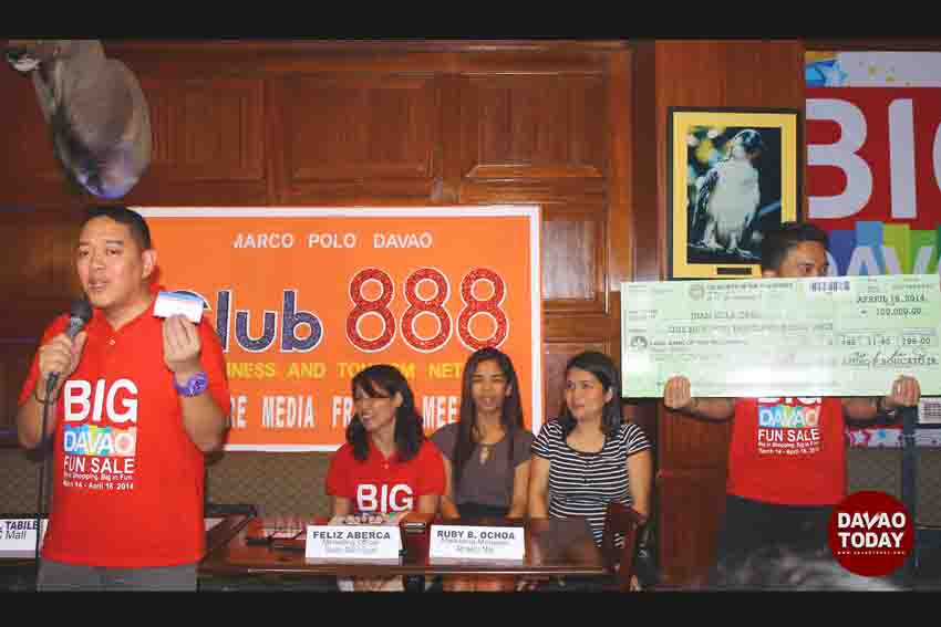 Big Davao Fun Sale ends with high food traffic and raffle winners