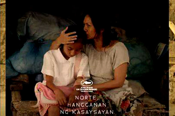 "2013 best film ""Norte"" special screening on April 29"