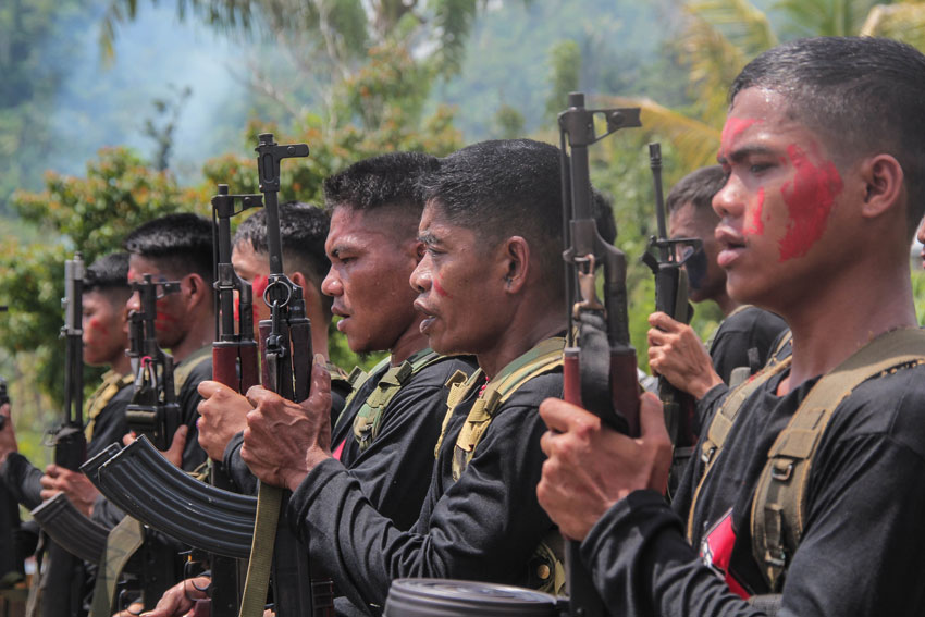 Escalating NPA attacks in Mindanao